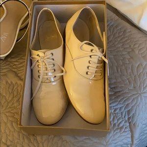 Patent loubotin loafers size 38